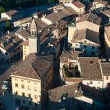 Opinião de San Marino imagem de stock