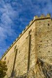 Opinião de San Michele Sacra Abbey Exterior Detail imagem de stock royalty free