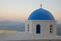 Opinião de Santorin Imagens de Stock