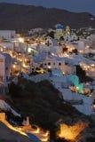 Opinião de Santorin Fotos de Stock