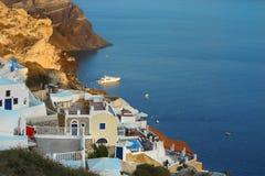 Opinião de Santorini Foto de Stock Royalty Free