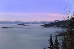 Opinião de Spokane da montagem Foto de Stock Royalty Free