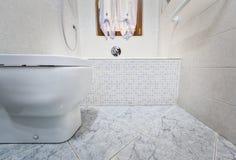 Opinião de Toilette da parte inferior fotografia de stock