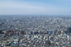 Opinião de Tokyo Fotos de Stock Royalty Free