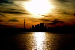 Opinião de Toronto Fotos de Stock Royalty Free