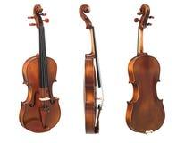 Opinião de três violoncelos imagem de stock