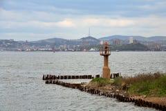 Opinião de Vladivostok Fotografia de Stock Royalty Free