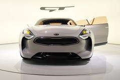 Opinião dianteira de KIA GT Imagens de Stock