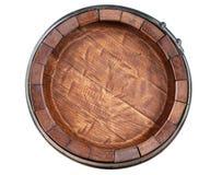 Opinião dianteira do tambor no fundo branco Fotografia de Stock Royalty Free
