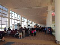 Opinião do aeroporto Fotografia de Stock Royalty Free