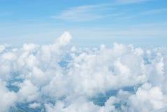 Opinião do avião fotografia de stock royalty free