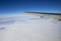 Opinião do avião Fotos de Stock Royalty Free