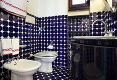 Opinião do banheiro foto de stock