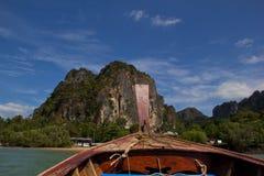 Opinião do barco Fotos de Stock Royalty Free