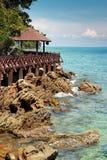 Opinião do beira-mar Imagem de Stock Royalty Free