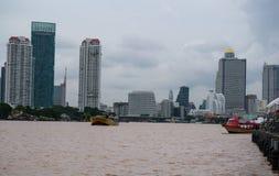 Opinião do beira-rio de Asiatique o beira-rio, Banguecoque, Tailândia imagem de stock royalty free