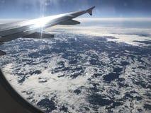 Opinião do céu foto de stock