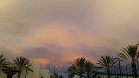 Opinião do céu da escola de San Diego imagem de stock royalty free