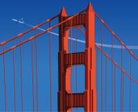 Opinião do céu da ponte Fotografia de Stock Royalty Free