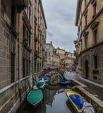 Opinião do canal de Veneza Foto de Stock