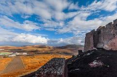 Opinião do castelo Imagens de Stock