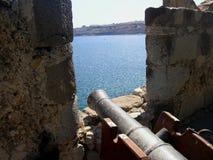 Opinião do castelo de Bodrum Joannites do porto Turquia Fotografia de Stock Royalty Free
