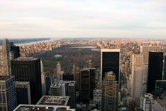 Opinião do Central Park de New York Foto de Stock