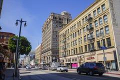 Opinião do centro da rua Imagem de Stock