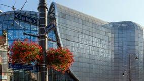 Opinião do close up de Galeria Katowicka Fotografia de Stock Royalty Free