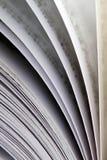 Opinião do close up de um livro imagem de stock royalty free