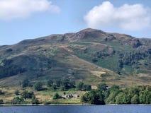 Opinião do cruzeiro do katrine do Loch Foto de Stock Royalty Free