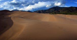 Opinião do deserto Imagem de Stock