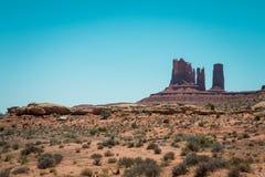 Opinião do deserto de Utá fotos de stock