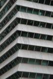 Opinião do detalhe de um arranha-céus Fotografia de Stock Royalty Free