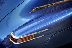 Opinião do detalhe do automóvel clássico imagem de stock