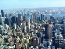 Opinião do dia de New York City Imagens de Stock