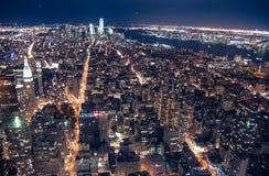 Opinião do Empire State Building Imagens de Stock