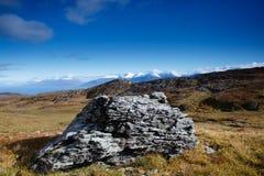 Opinião do Fjord imagens de stock