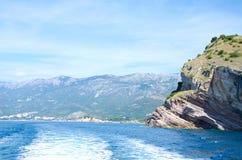 Opinião do fuzileiro naval de Montenegro Fotos de Stock