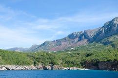 Opinião do fuzileiro naval de Montenegro Foto de Stock Royalty Free