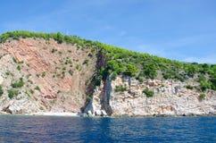 Opinião do fuzileiro naval de Montenegro imagem de stock royalty free