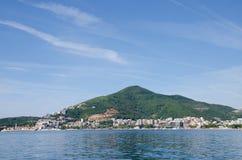 Opinião do fuzileiro naval de Montenegro Fotografia de Stock Royalty Free