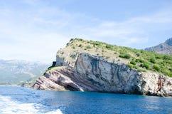 Opinião do fuzileiro naval de Montenegro Fotografia de Stock