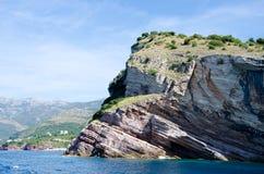 Opinião do fuzileiro naval de Montenegro Foto de Stock