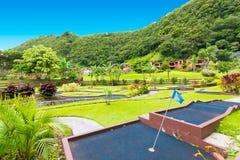 Opinião do golfe do vale de Boquete Escondido mini Fotos de Stock