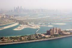 A opinião do hotel da palma de Atlantis Fotografia de Stock
