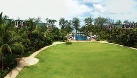 Opinião do hotel de Phuket Graceland Foto de Stock