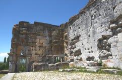 Opinião do interior do templo de Zeus Imagem de Stock