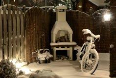 Opinião do inverno Imagens de Stock Royalty Free