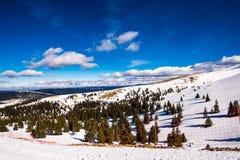 Opinião do inverno Foto de Stock Royalty Free